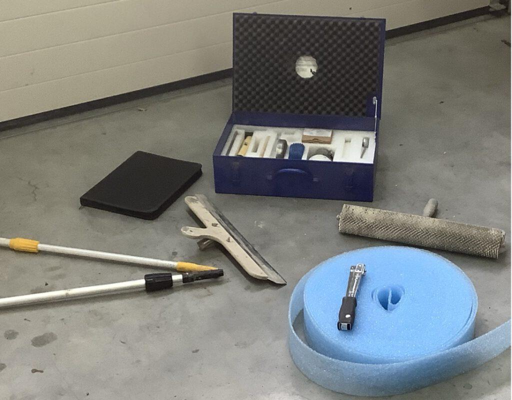 Werkzeuge für Untergründe